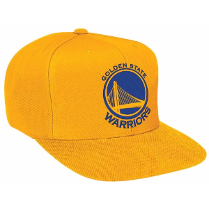 Mitchell & Ness NBA Solid Snapback - Men's - Accessories - Golden State Warriors - Yellow