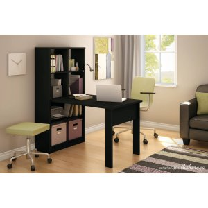 $133.33South Shore Annexe Work Table and Storage Unit Combo