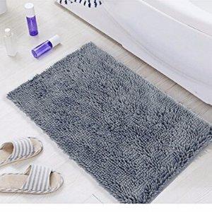 Microfiber Area Rugs for Living Room Non Slip Bath Rug