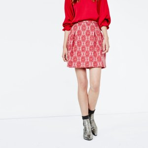 JIRONDA Lace mini skirt - Skirts & Shorts - Maje.com