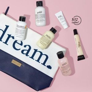 Free 7-piece Dream Gift SetWith $50 Purchase @ philosophy