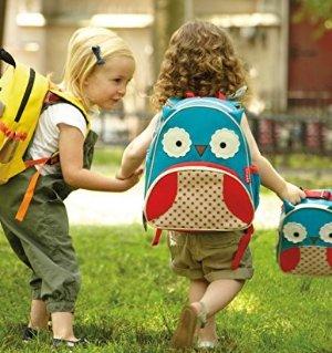 史低价 $9.99Skip Hop 超可爱猫头鹰造型儿童背包