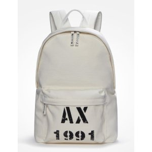 Armani Exchange AX 1991 CANVAS BACKPACK, Backpack for Men - A|X Online Store