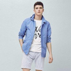 Hooded nylon jacket - Men | OUTLET USA