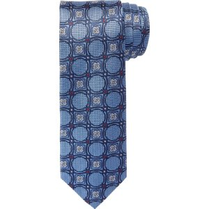 Signature Circles with Florettes Tie CLEARANCE - Ties | Jos A Bank