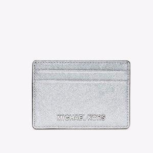 Michael Kors 银色卡包