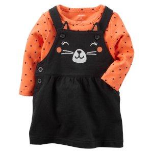 2-Piece Halloween Bodysuit & Jumper Set