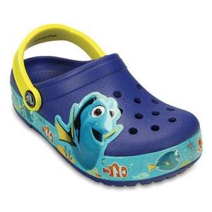 Kids' CrocsLights Finding Dory™ Clog