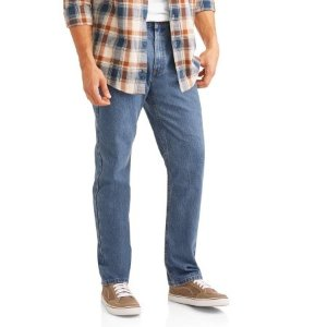 Faded Glory Men's Basic Regular Fit Jeans - Walmart.com