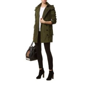 Burberry Taffeta Trench Coat