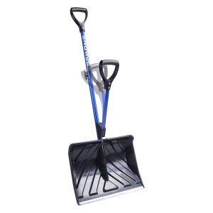 Snow Joe SHOVELUTION SJ-SHLV01 18-IN Strain-Reducing Snow Shovel w/ Spring Assisted Handle