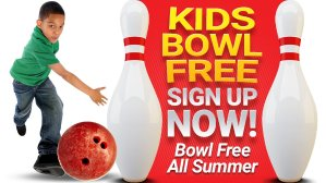 FREE 2 games for sign upKid's Bowling Game