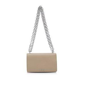 Prada Tessuto Saffiano Flap Bag