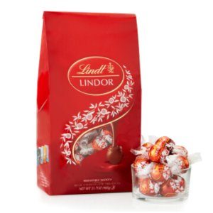 Milk LINDOR Truffles 75-pc Bag (31.7 oz) | Lindtusa