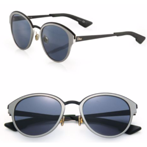Dior - 52mm Rounded Cateye Aluminum Sunglasses - saks.com
