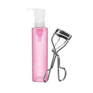 eyelash curler and porefinist set - ShuUemura_US