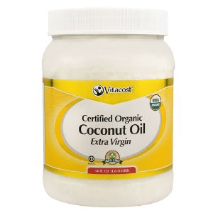 Vitacost Extra Virgin Certified Organic Coconut Oil - Non-GMO -- 54 fl oz