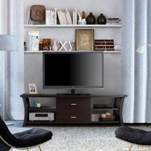 Furniture of America Danbury Modern 2-drawer TV Console - Free Shipping Today - Overstock.com - 15689423