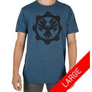 Gears of War 4 Fenix Dark Blue Shirt - Large for Collectibles | GameStop