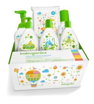 Buy 1 Get 1 FREEselected Babyganics Products @ ToysRUs