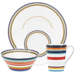 DKNY Lenox® Urban Essentials Dinnerware Collection in White - Bed Bath & Beyond
