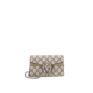 Dionysus Gg Supreme Mini Chain Shoulder Bag by Gucci