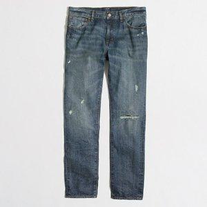 Driggs rip & repair jean in hanover wash : driggs | J.Crew Factory