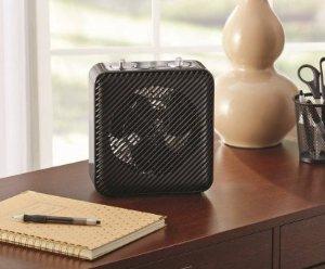 Fan Heater Black