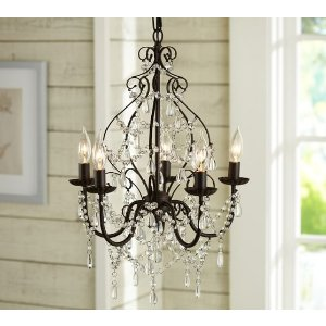Paige Crystal Chandelier | Pottery Barn