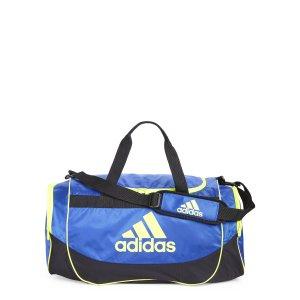 Blue & Black Defense Medium Duffel Bag - Century 21