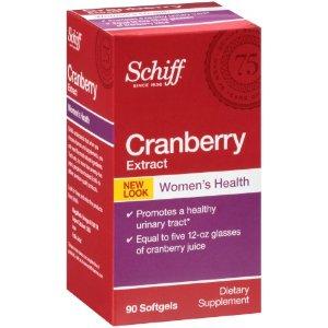 Schiff Cranberry Extract Capsules, 90 Ct | Jet.com