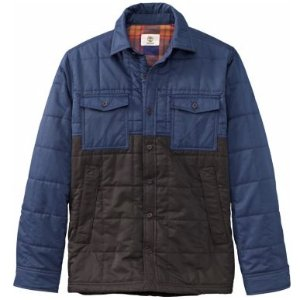 $9Timberland® Men's Mill Brook Quilted Overshirt
