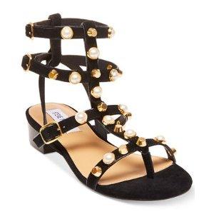 Steve Madden Women's Crowne Embellished Gladiator Sandals - Sandals - Shoes - Macy's