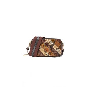 Marc Jacobs Snake Patchwork Snapshot Camera Bag