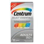 送爸妈健康好礼~善存Centrum Select Essentials 50+复合维生素,100粒