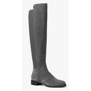 Joanie Over-the-knee Suede Boot