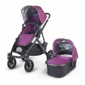 UPPAbaby 2016 VISTA Stroller - Samantha (Purple/Black)