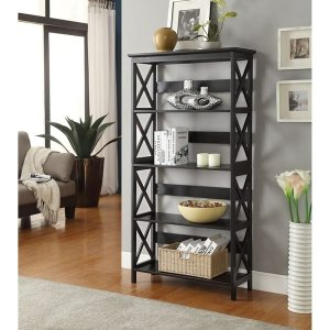 Convenience Concepts Oxford 5-tier Bookcase | Overstock.com Shopping - The Best Deals on Office Storage & Organization