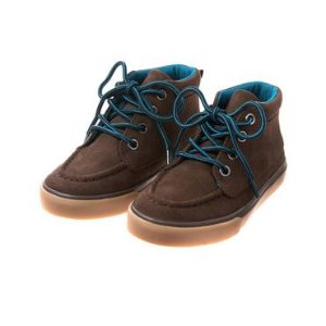 Toddler Boys Chestnut Brown Lace-Up Boots by Gymboree