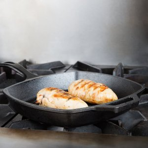 $14.19Lodge L8SGP3 Pre-Seasoned Cast-Iron Square Grill Pan, 10.5-inch