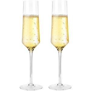 $9.47Bella Vino Crystal Champagne Flutes