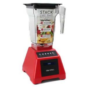 Blendtec Classic 560 3.0 HP 4-Speed + Pulse Touchscreen Kitchen Blender, Red | eBay