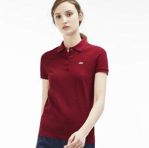 $61.99($89.50)Lacoste Women's Classic Fit Piqué Polo Shirt