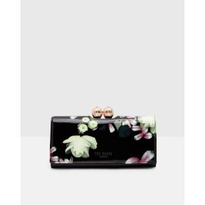 Kensington Floral leather matinee wallet