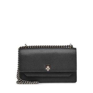 Leather Shoulder Bag - Valextra | WOMEN | US STYLEBOP.COM