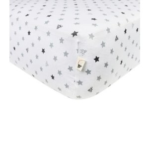 Star Fitted Crib Sheet