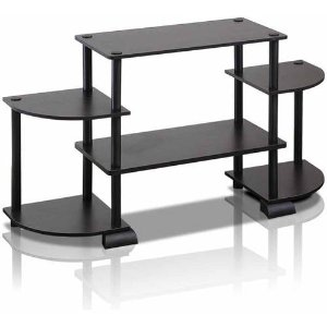 Furinno Rounded Corner Entertainment Center for 37