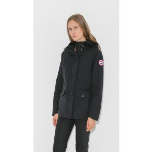 Canada Goose Stellerton Coat in Black
