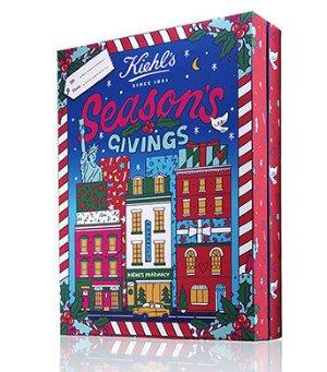 $89(价值$170)Kiehl's限量2017年圣诞日历礼盒补货