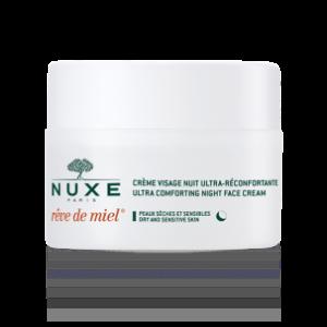 Nourishing night cream Rêve de Miel®, Face Cream - NUXE